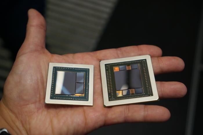 GPU Vega contre Fiji